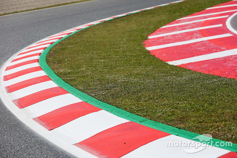 Kerb detail and Track View