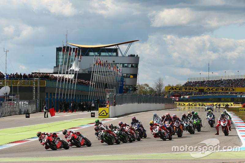 Arrancada: Chaz Davies, Ducati Team líder