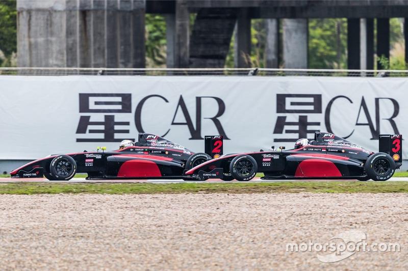 F4 black arts racing