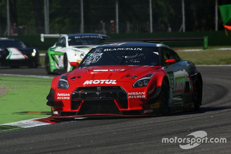 #23 Team RJN-Motorsport, Nissan GT-R Nismo GT3: Alex Buncombe, Lucas Ordonez, Katsumasa Chiyo