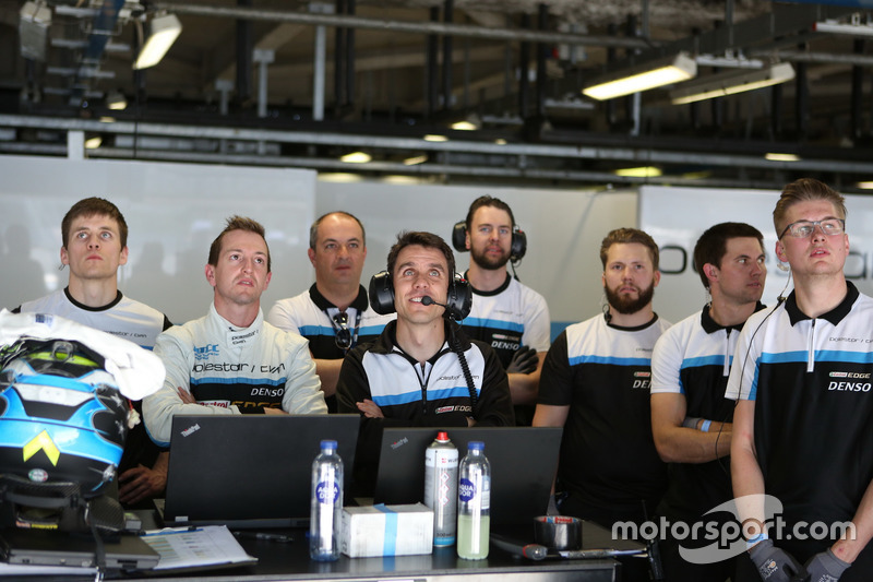 Nestor Girolami, Polestar Cyan Racing, Volvo S60 Polestar TC1 with the team