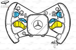 McLaren MP4-13 steering wheel (Hakkinen)
