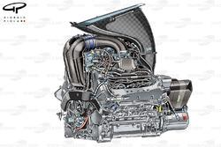 Ferrari 059/3 powerunit
