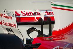 Ferrari SF70H rear wing and monkey seat detail