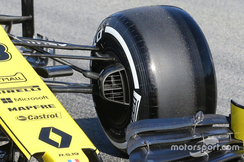 Renault F1 Team R.S. 19 suspension detail