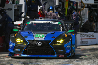 #14 3GT Racing Lexus RCF GT3, GTD - Dominik Baumann, Kyle Marcelli, Pit Stop