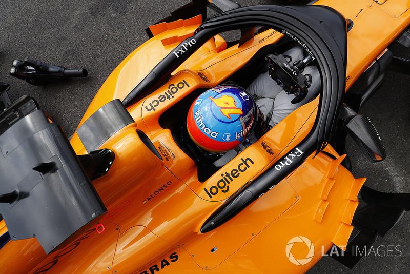 14: Фернандо Алонсо, McLaren MCL33, 1'44.917