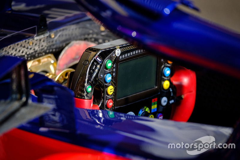 Scuderia Toro Rosso STR13 steering wheel detail