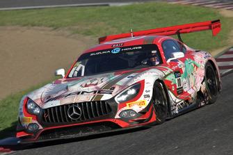 #00 Mercedes-AMG Team GOOD SMILE Mercedes-AMG GT3: Nobuteru Taniguchi, Tatsuya Kataoka, Kamui Kobayashi
