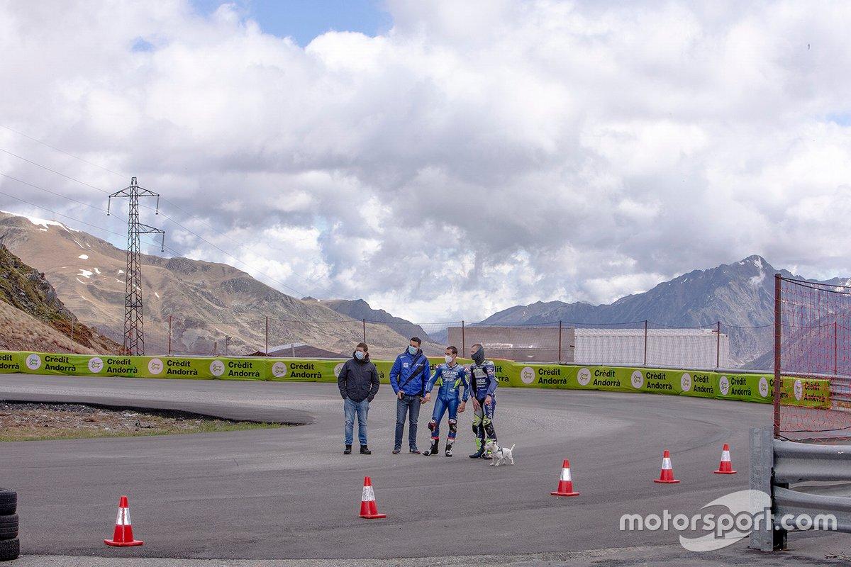 Entraînement sur le Circuit Andorra-Pas de la Casa