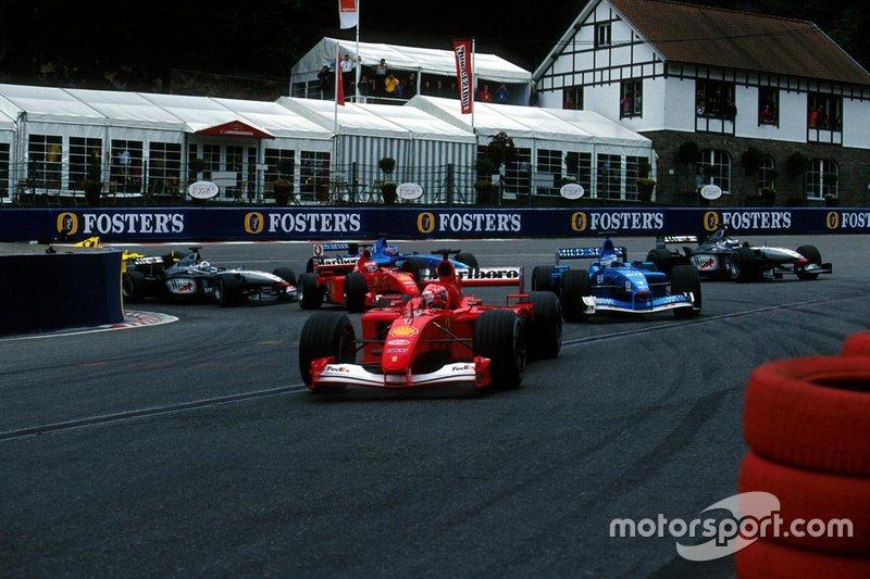 52勝目:2001年ベルギーGP
