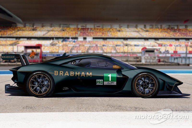 Render Brabham GTE