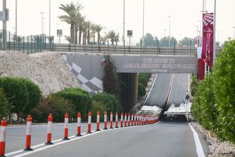 Eingang zum Losail International Circuit in Katar