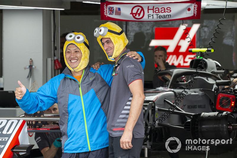 Haas F1 minion fans