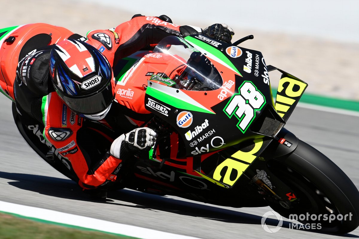 P21 Bradley Smith, Aprilia Racing Team Gresini