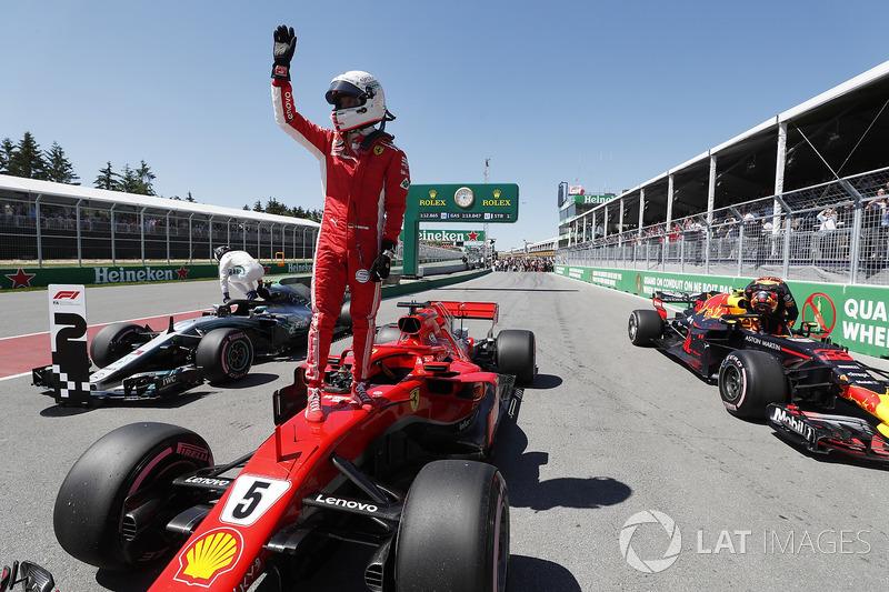 Гран Прі Канади: Себастьян Феттель — Валттері Боттас — 0,093 секунди