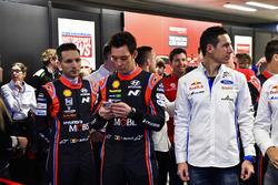 Les pilotes WRC ouvrent le salon