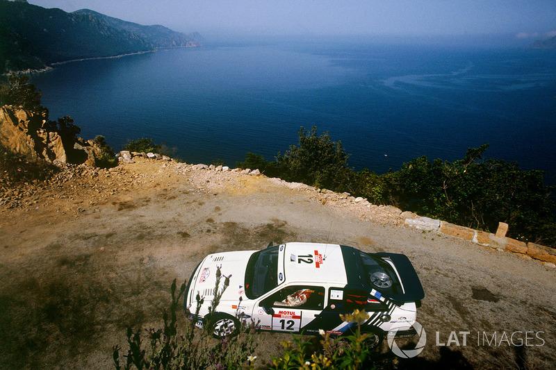 Carlos Sainz, Luis Moya, Ford Sierra RS Cosworth