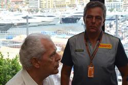 Marco Tronchetti Provera, Vice Presidente esecutivo, Pirelli e Mario Isola, Direttore sportivo, Pirelli