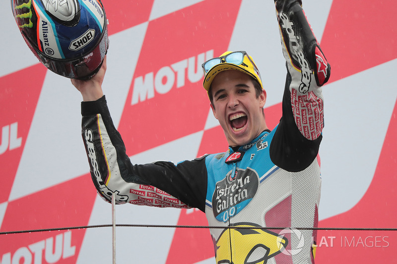 Race winner Alex Marquez, Marc VDS