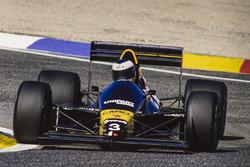 Jonathan Palmer, Tyrrell 017-Ford