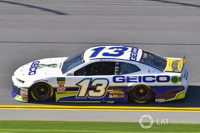 23. Ty Dillon, No. 13 Germain Racing Chevrolet Camaro