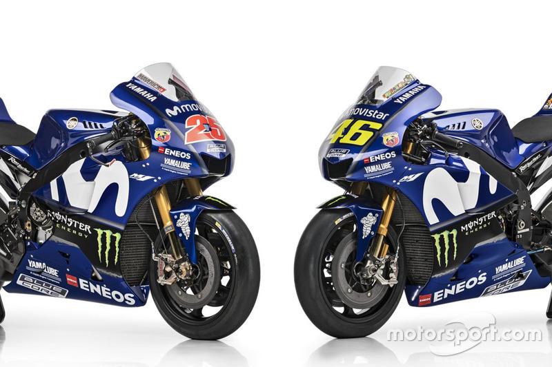 Мотоцикли Маверіка Віньялеса та Валентино Россі, Yamaha Factory Racing