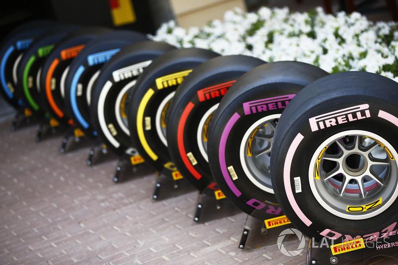 Pirelli-Reifen für 2018