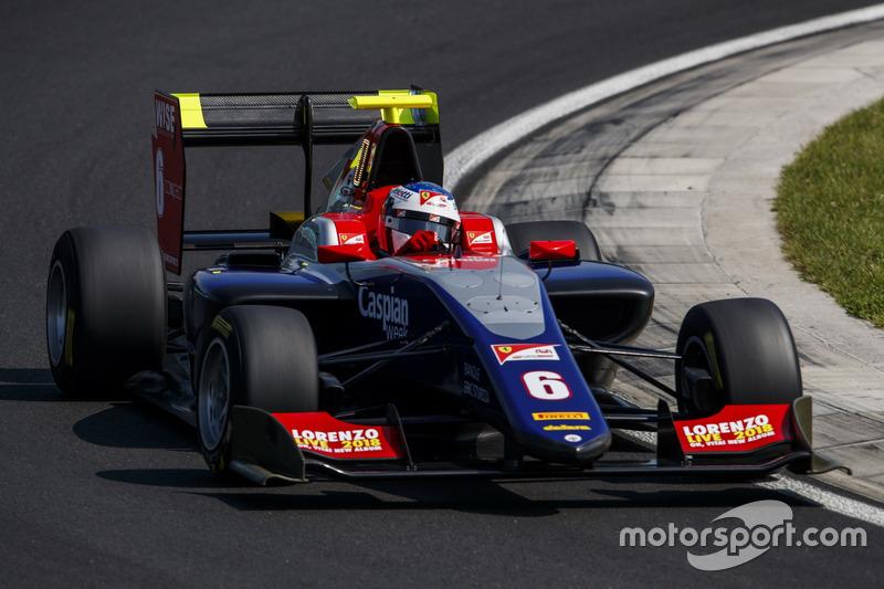 Giuliano Alesi a été victime d'un problème technique