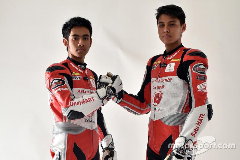 Andi Gilang dan Irfan Ardiansyah, Astra Honda Racing Team