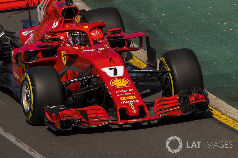 Raikkonen Vettel'in stratejisini öğrendiğinde çok sinirlendi