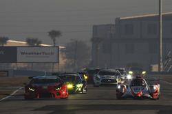 Джон Беннет, Колин Браун, Ромен Дюма, CORE autosport, ORECA LMP2 (№54), Мэдисон Сноу, Брайан Селлерс, Брайс Миллер, Paul Miller Racing, Lamborghini Huracan GT3 (№48)