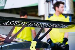 Aston Martin Vantage rear detail