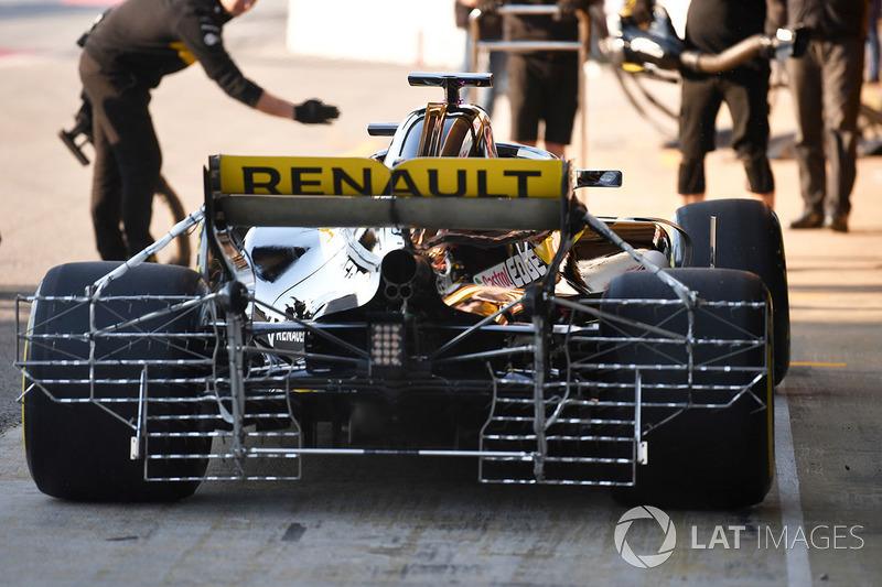 Renault R.S.18: Sensoren