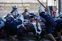 Robert Kubica, Williams FW40, pit stop