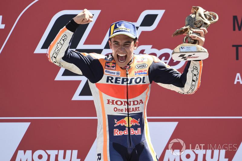 MotoGP Belanda: Marc Marquez, Repsol Honda Team