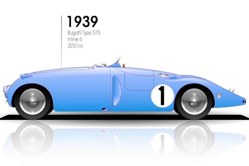 1939: Bugatti Type 57S