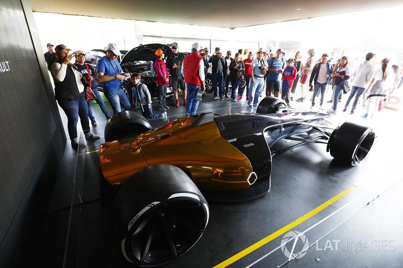 Un concepto de Renault Sport F1 Team