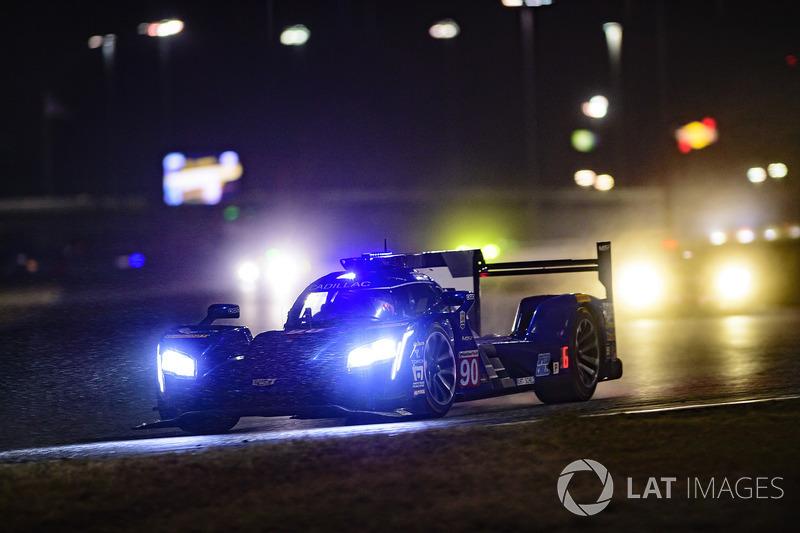4. #90 Spirit of Daytona Racing Cadillac DPi, P: Tristan Vautier, Matt McMurry, Eddie Cheever III rain