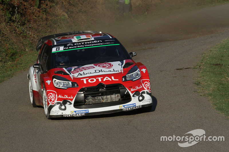 Craig Breen, Scott Martin, Citroen DS3 WRC, Abu Dhabi Total World Rally Team