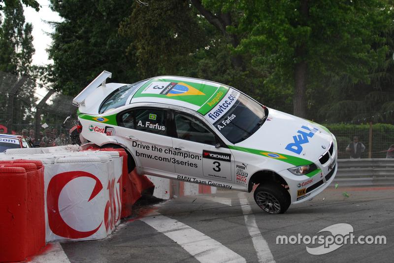 Unfall: Augusto Farfus, BMW Team Germany, BMW 320si