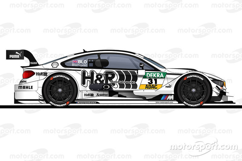 #31: Tom Blomqvist, RBM-BMW