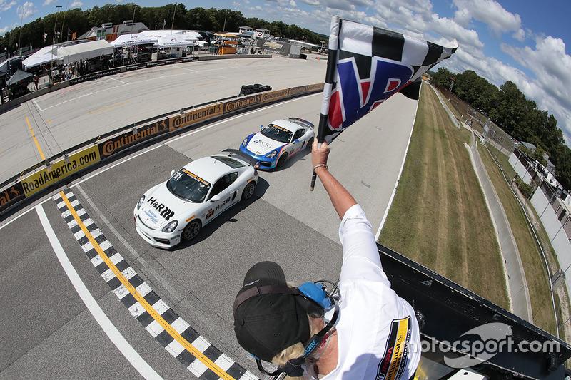 Il vincitore della gara Billy Johnson, Multimatic Motorsports
