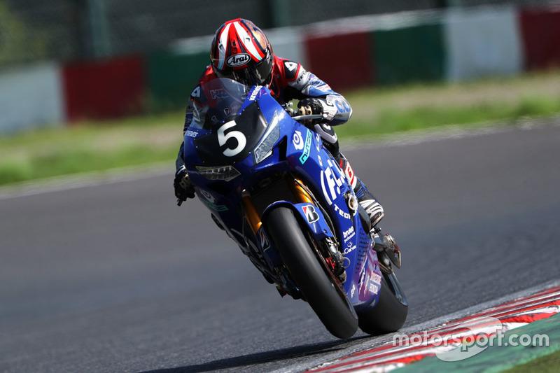 #5 F.C.C. TSR Honda, Honda: Kazuma Watanabe, Patrick Jacobsen, Dominique Aegerter