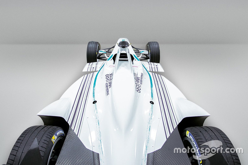 Das Design von NEXTEV Team China Racing für die Saison 2016/2017 der Formel E