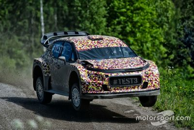 Citroën C3 WRC 2017 shakedown