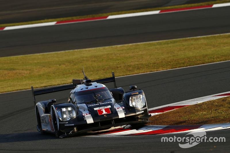 2. LMP1: #1 Porsche 919: Timo Bernhard, Mark Webber, Brendon Hartley