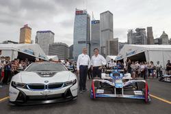Йенс Марквардт, директор BMW Motorsport и Алехандро Агаг, генеральный директор Формулы Е