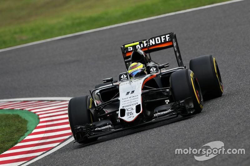 6: Sergio Perez, Sahara Force India F1 VJM09