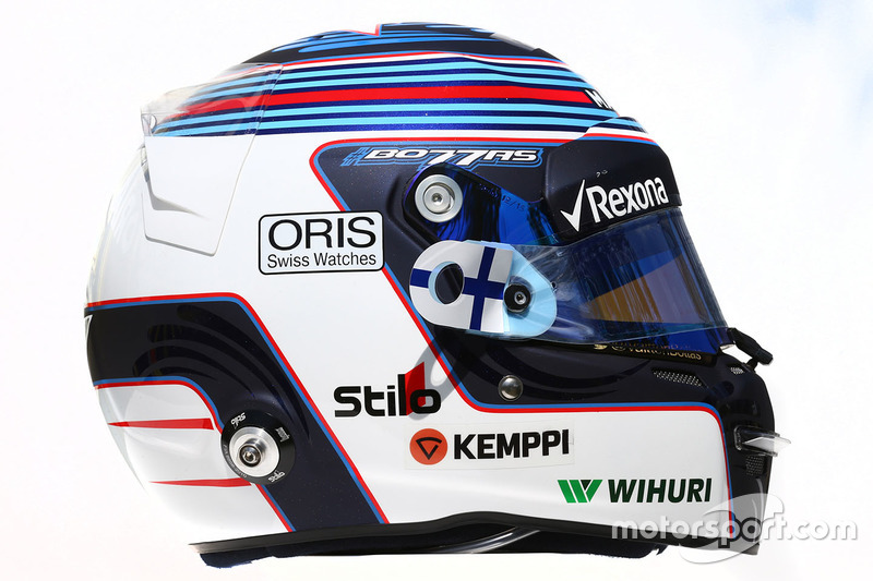 le casque de valtteri bottas williams gp d 39 australie photos formule 1. Black Bedroom Furniture Sets. Home Design Ideas